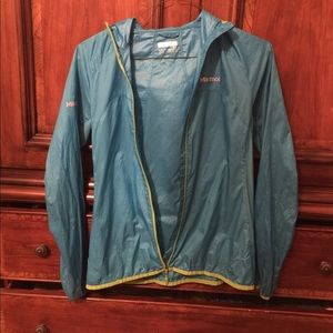 Marmot women's trail wind jacket with hood